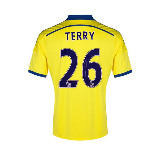 John Terry Signed Chelsea FC Away Shirt - 2014/2015