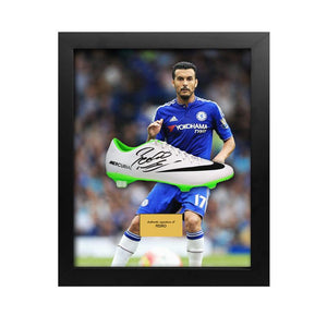 Pedro boot in a bublle frame with background image of Pedro