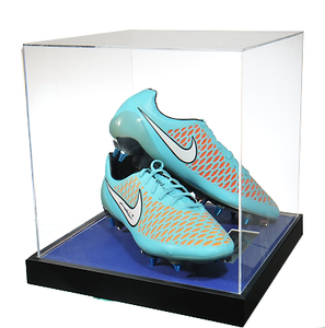 John Terry Signed Memorabilia - Blue Nike Majista in Acrylic Case