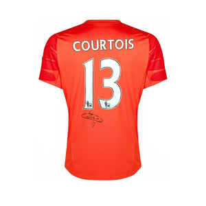 Thibaut Courtois Signed Goalekeer