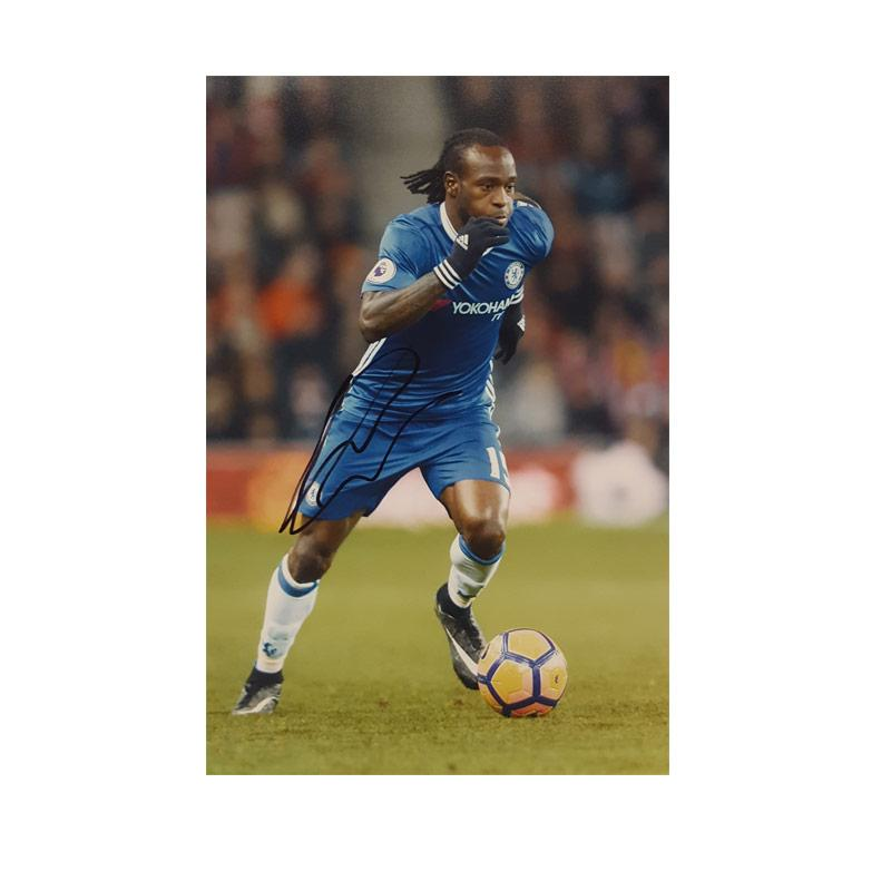 Victor Moses Signed Photo