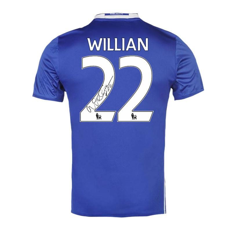 Willian Signed Shirt, Chelsea FC memorabilia