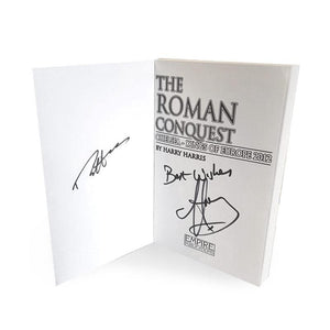 The Roman Conquest Signed by Harry Harris and Ron 'Chopper' Harris