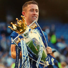 Load image into Gallery viewer, Gary Cahill Signed 'Premier League Champion' Photo