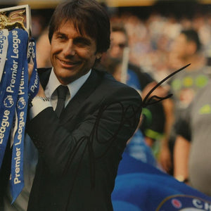 Antonio Conte Signed Photo - Premier League Champion