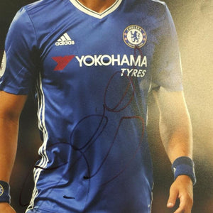 David Luiz Signed Photo