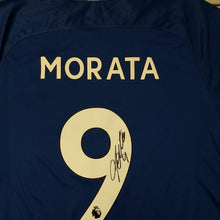 Load image into Gallery viewer, Alvaro Morata Signed Chelsea FC Shirt 2017/2018