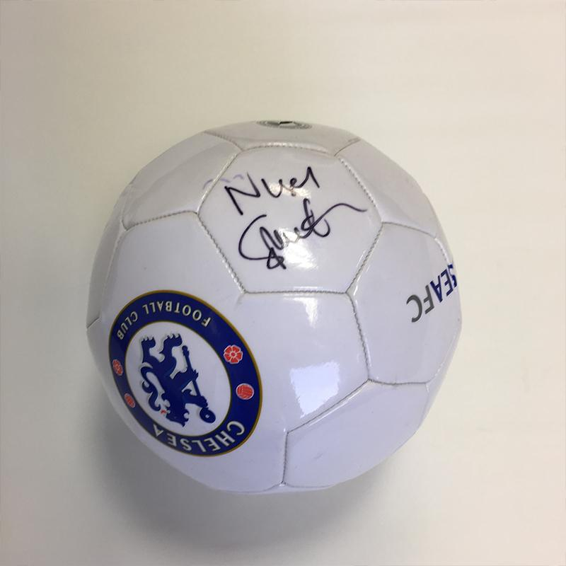 Nigel Spackman Signed Chelsea FC Ball