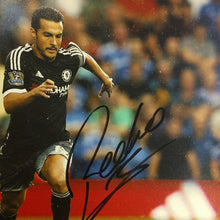 Load image into Gallery viewer, Close up of Pedro's signature on photograph