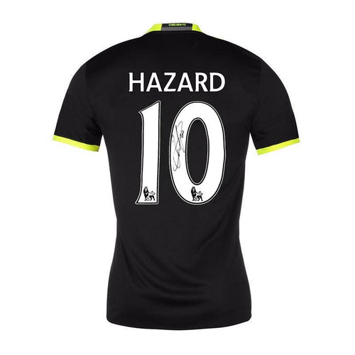 Eden Hazard Signed Chelsea FC Away Shirt 2016/2017