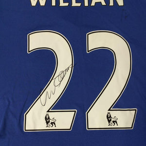 Willian Signed Shirt, Chelsea FC 2016/2017 Season