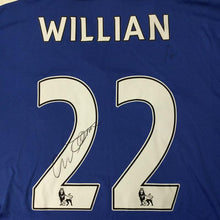 Load image into Gallery viewer, Willian Signed Shirt, Chelsea FC 2016/2017 Season