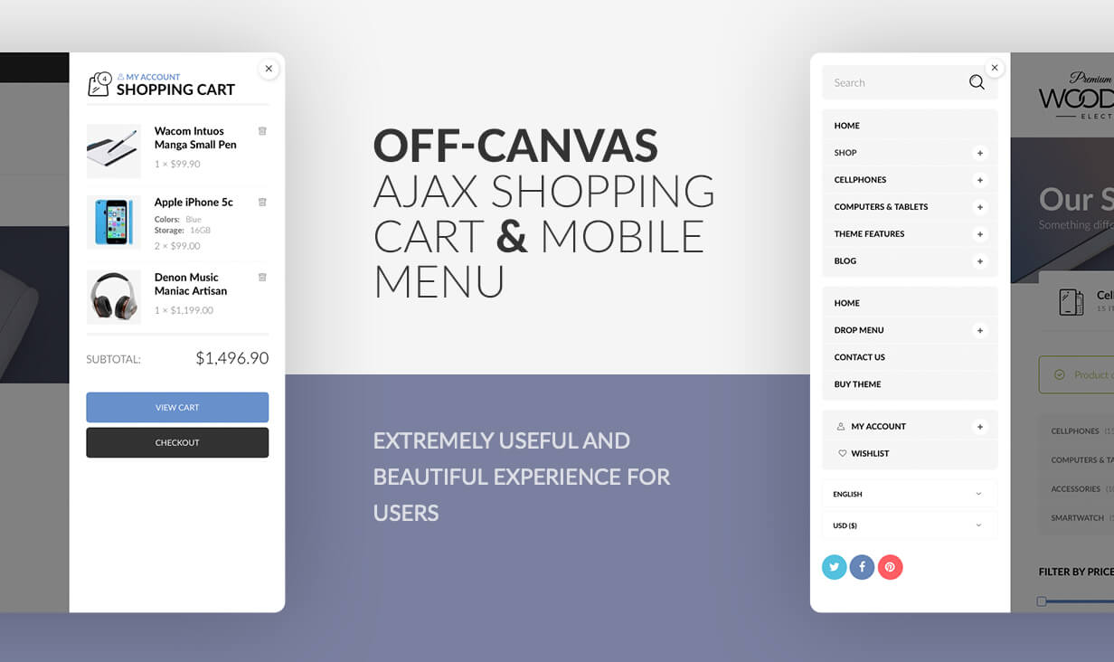 Off canvas sidebar