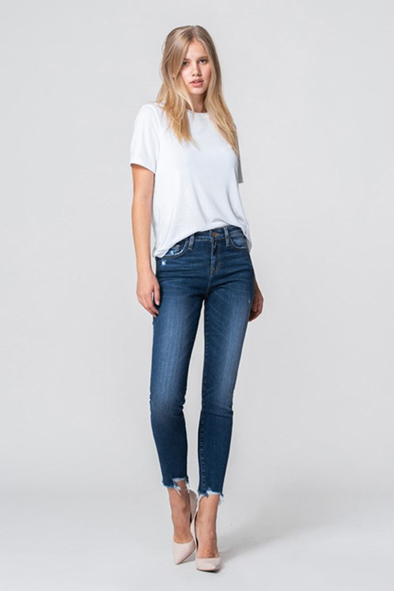 Flying Monkey-High Rise Crop Skinny-Parallel