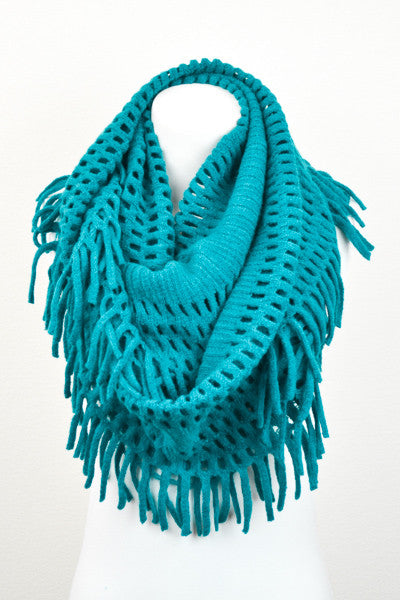 Wrap It In Love Scarf - Teal