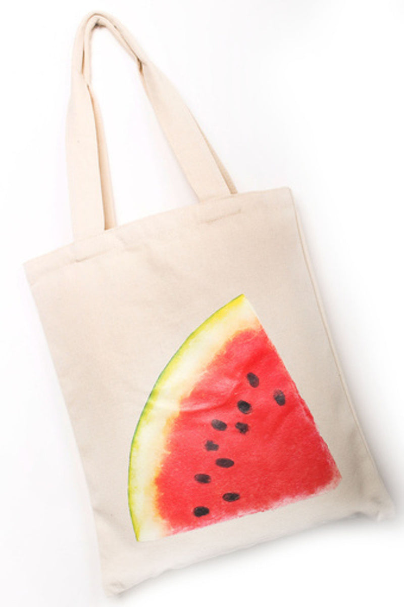 Watermelon Reusable Bag-Beige