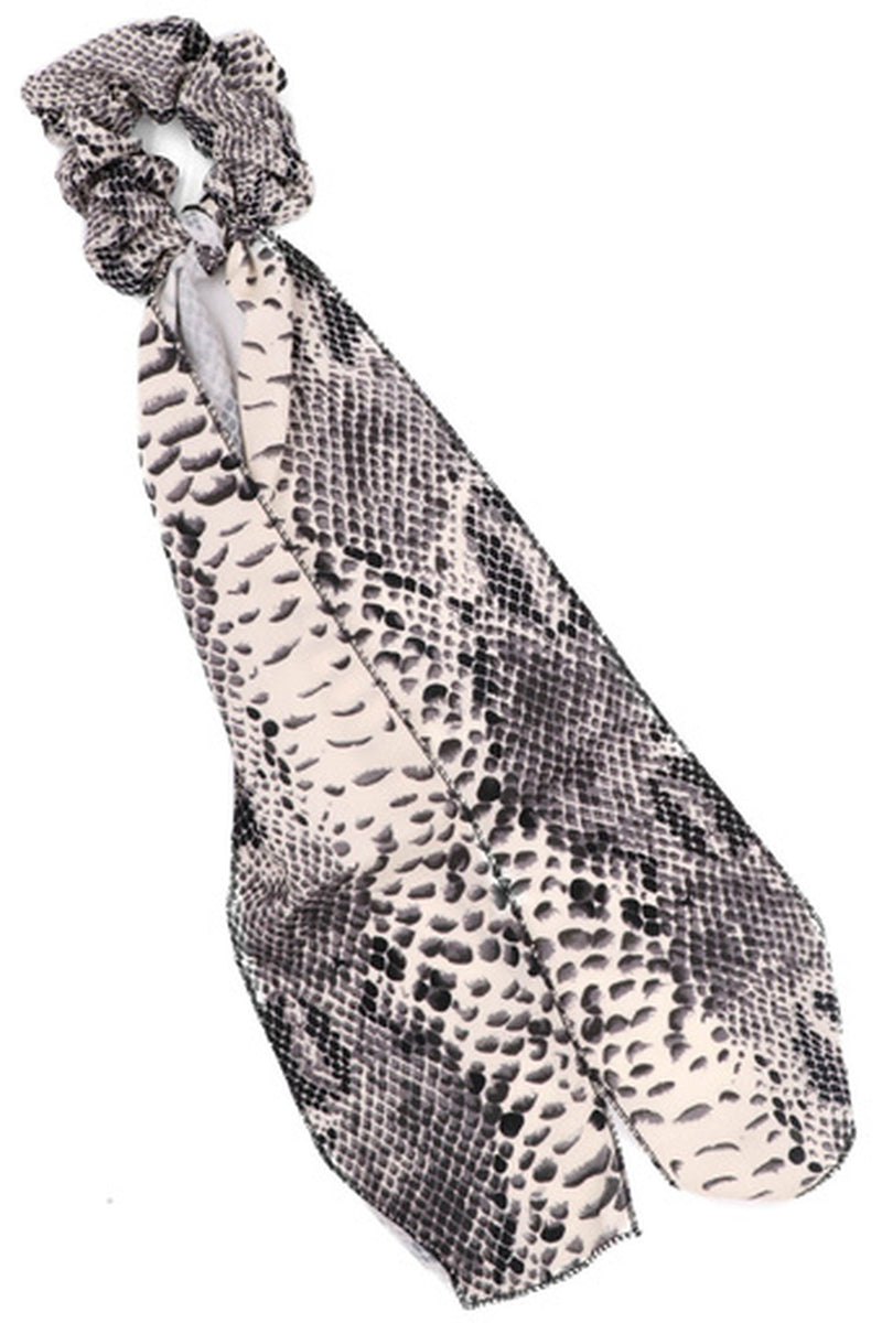 Animal Print Neckerchief-Snake Print