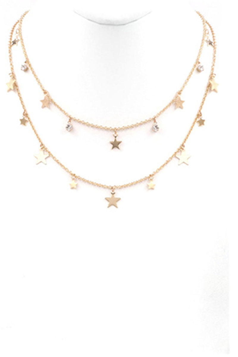 Star Necklace-Gold