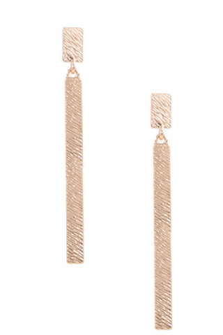 Buddy Love-Stonehenge Earrings-Red