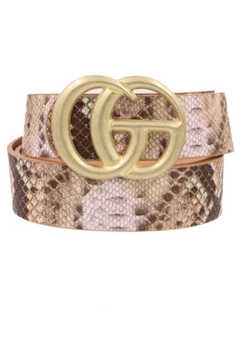 Snake Belt-Brown