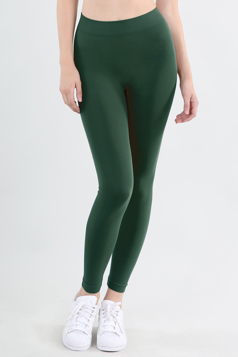 NikiBiki Basic Leggings-Pine Green
