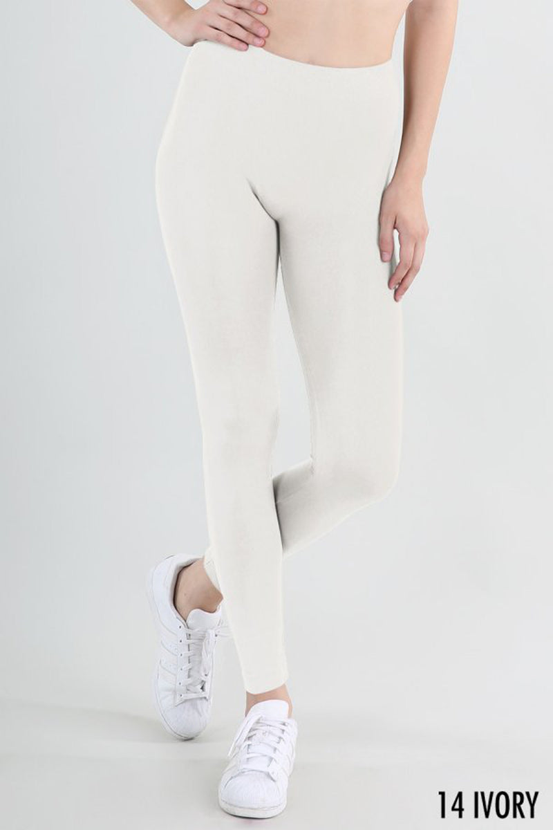 NikiBiki Basic Leggings-Ivory