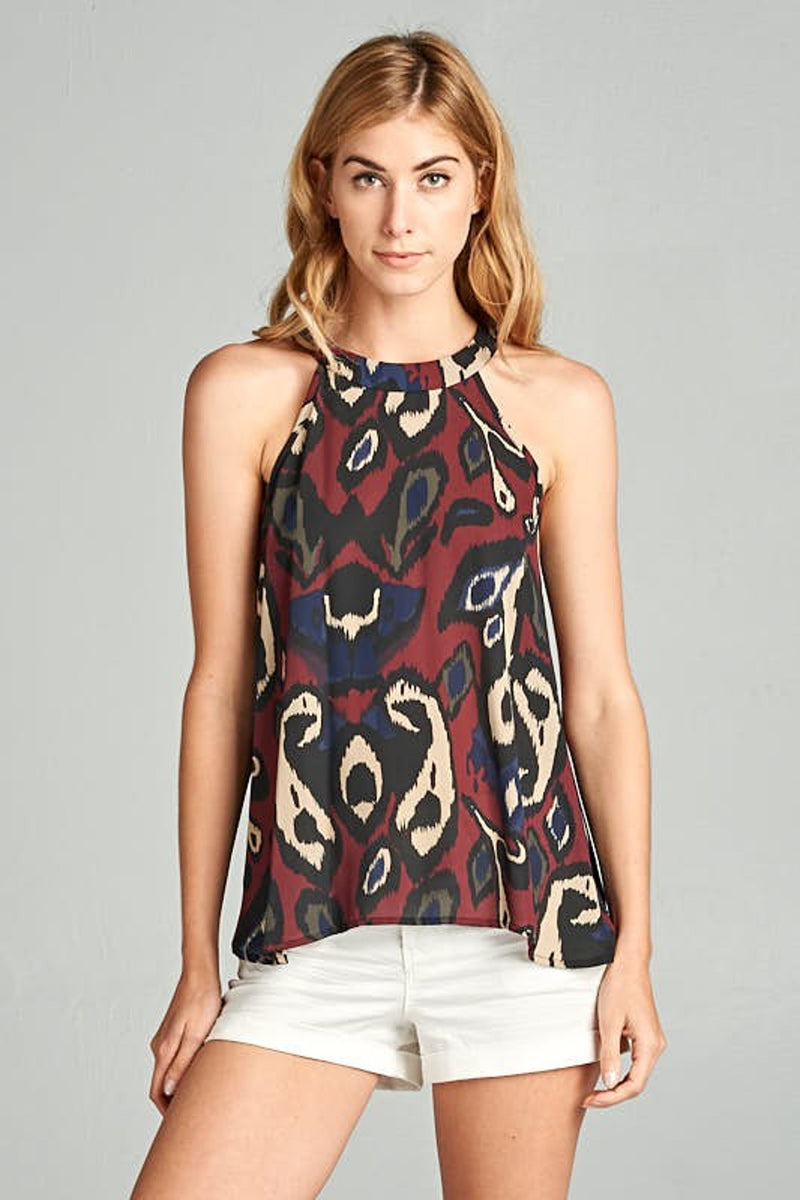 Colors Of Fall Top-Wine