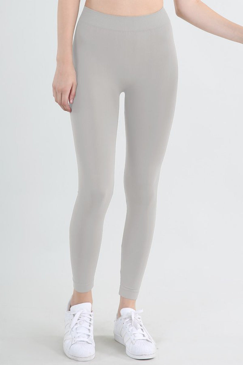 NikiBiki Basic Leggings-Metal Grey