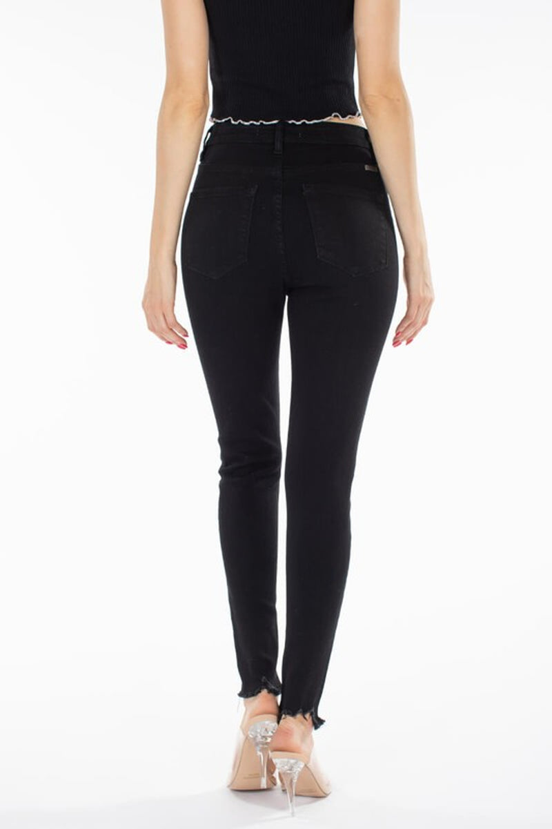 KanCan-Super High Rise Super Skinny Jeans-Black