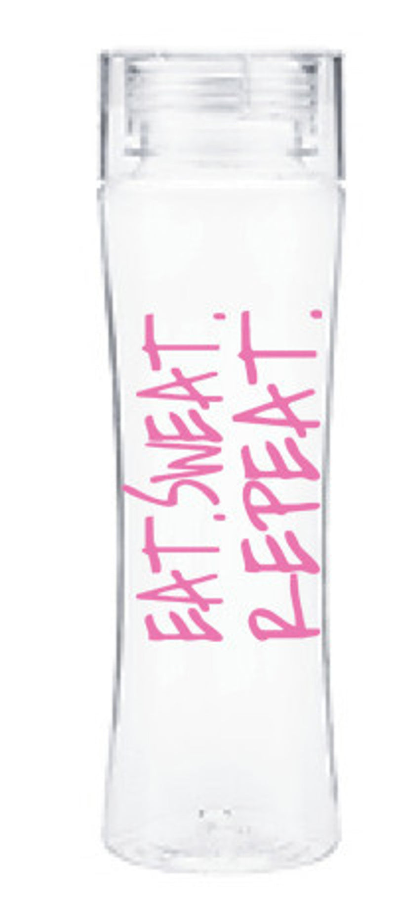 Aspen Lane-Eat, Sweat, Repeat Water Bottle-Pink