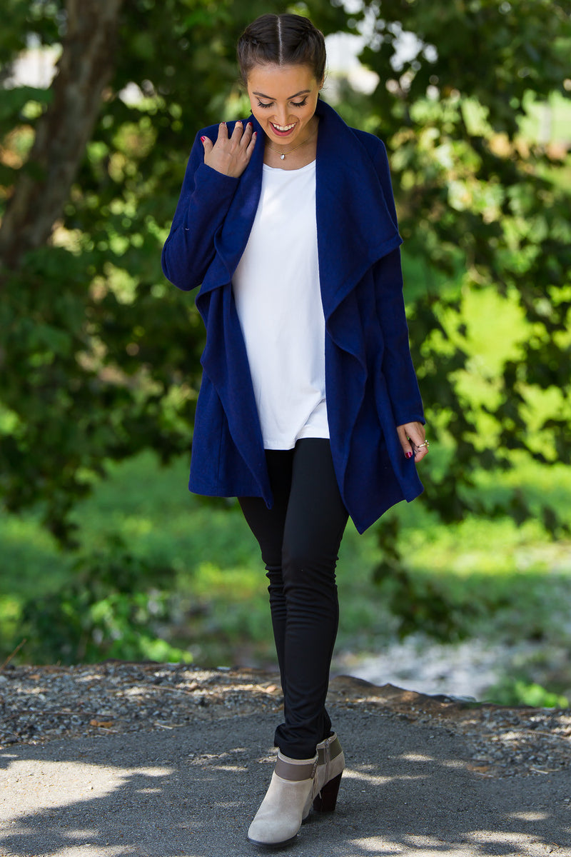 The Perfect Piko Jacket-Dark Blue