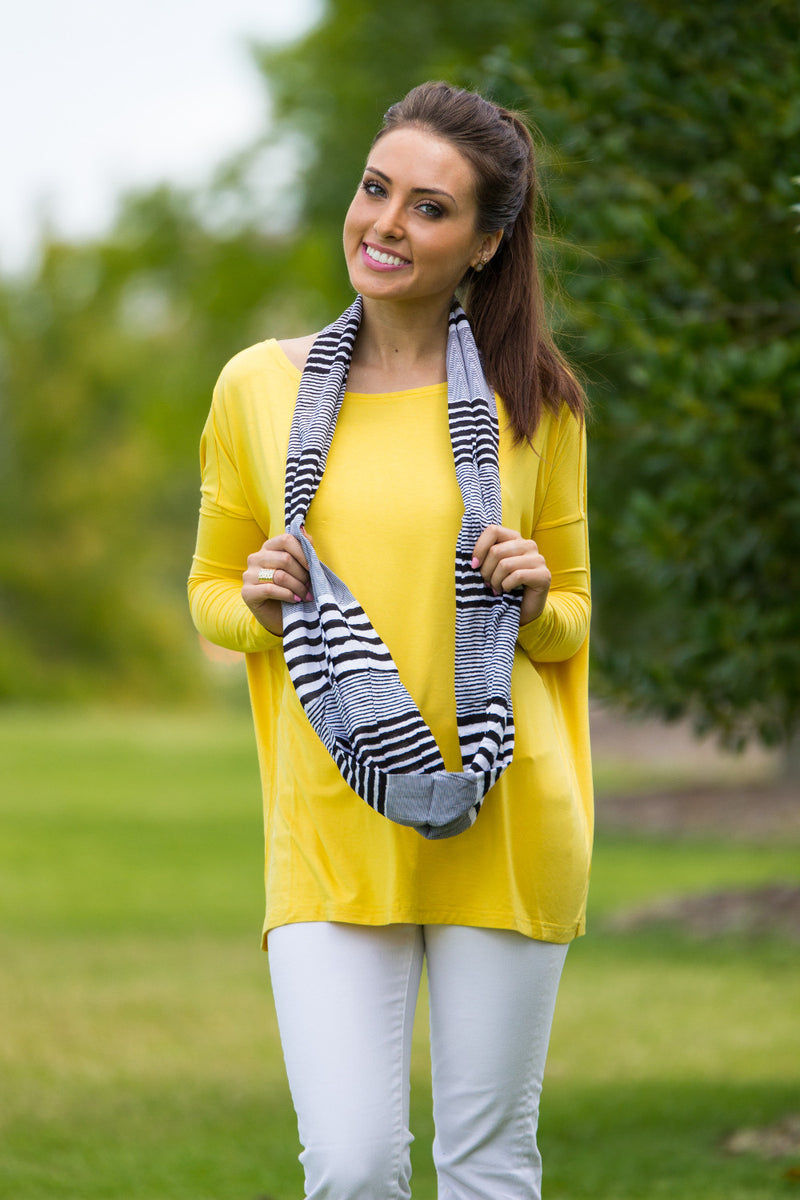 The Perfect Piko Top-Mustard
