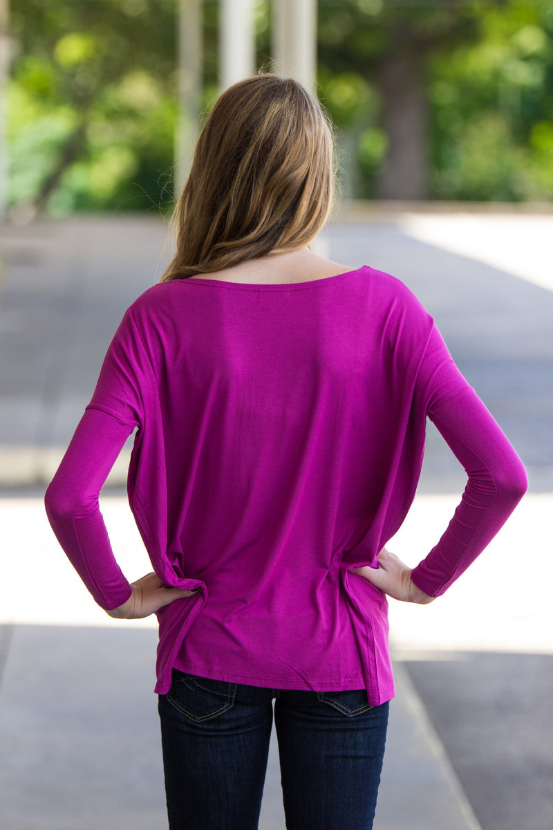 The Perfect Piko Top-Orchid