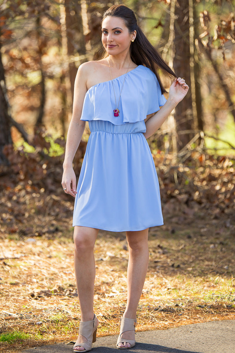 Everly-Livin' The Dream Dress-Blue
