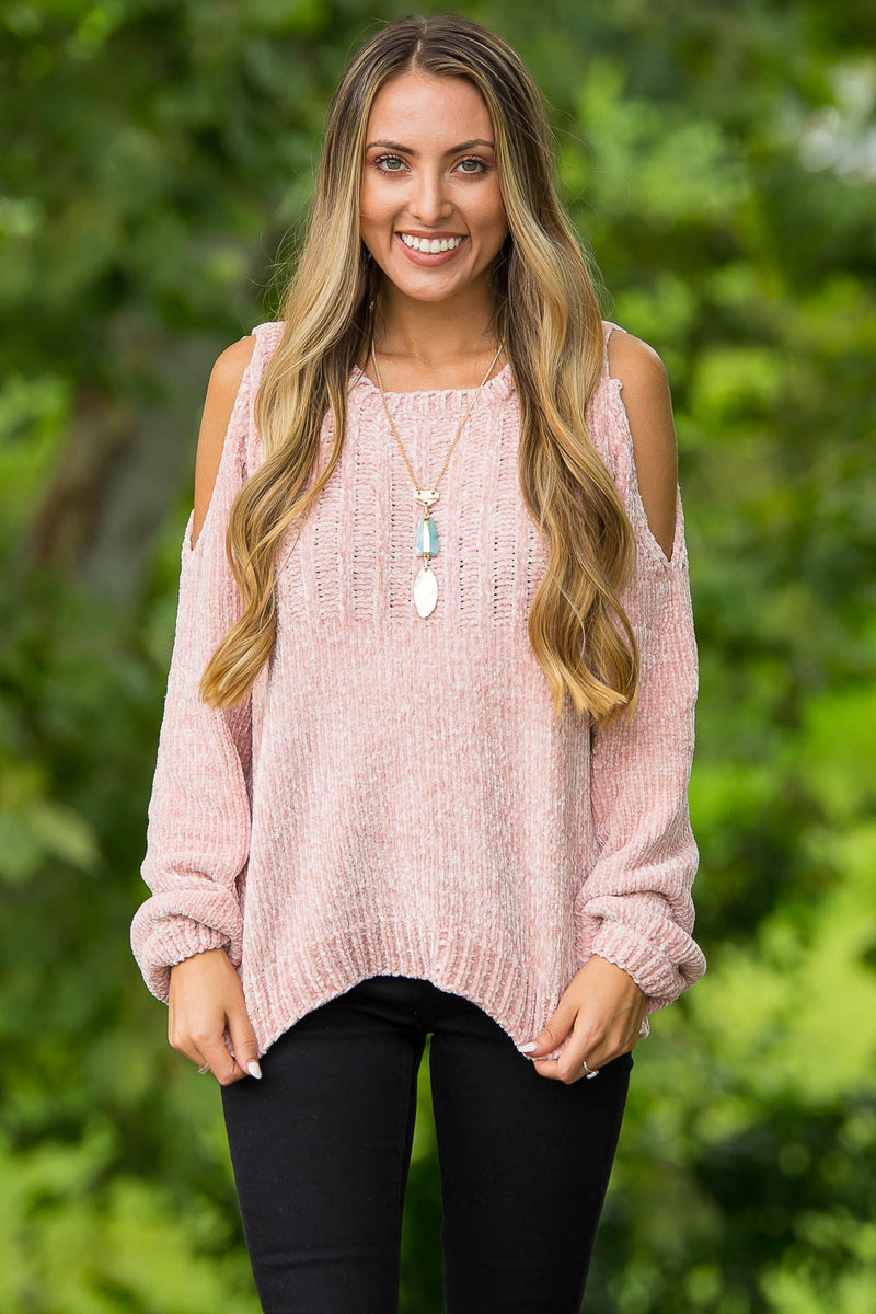 Best Is Yet To Come Sweater Top-Blush