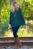 The Perfect Piko Top-Forest Green - Simply Dixie Boutique  - 2