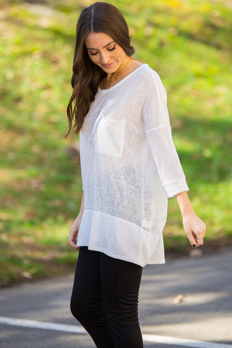 Pocket Talk Top-White