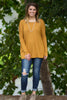 Dark Mustard Piko Top