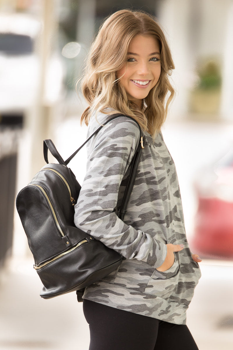 Going Anywhere Backpack - Black