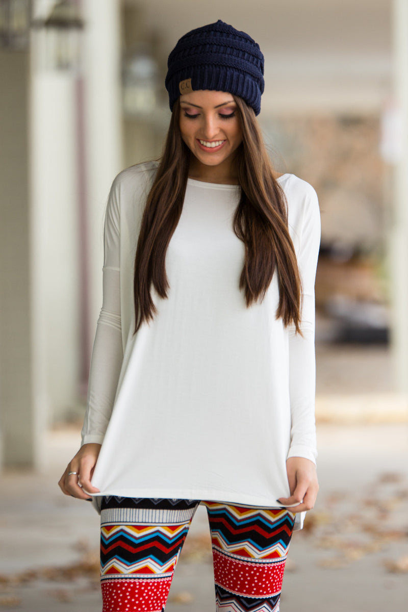 The Perfect Piko Top-Off White