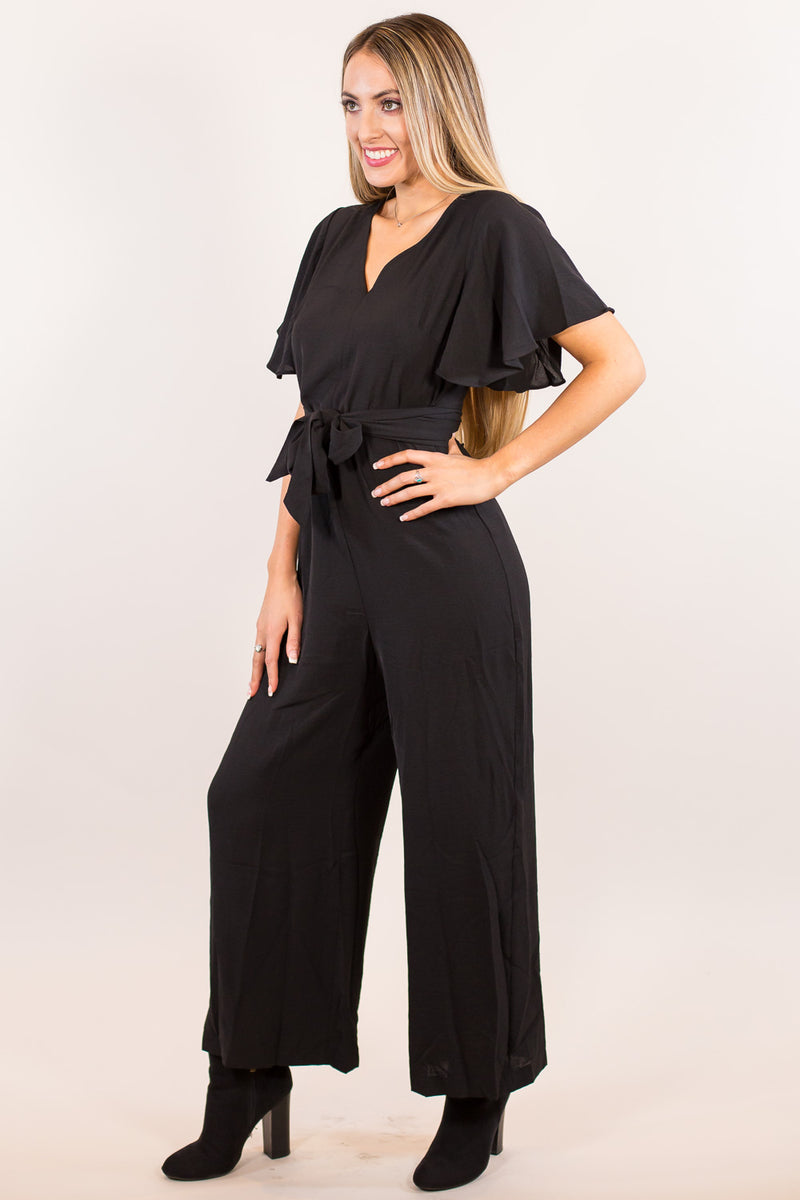 Santana Jumpsuit-Black