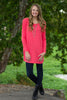 The Perfect Piko Tunic Top-Coral - Simply Dixie Boutique  - 1