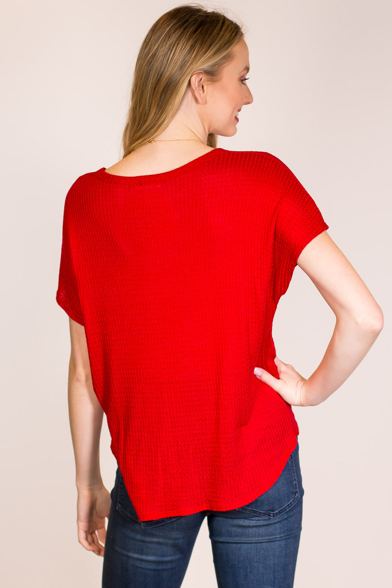 The Perfect One Top-Red