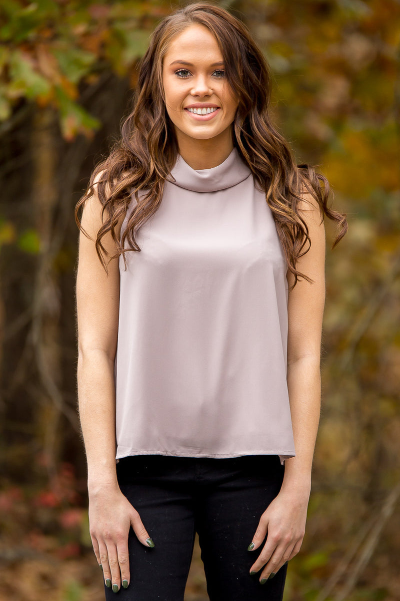 For The Ladies Top - Light Mocha