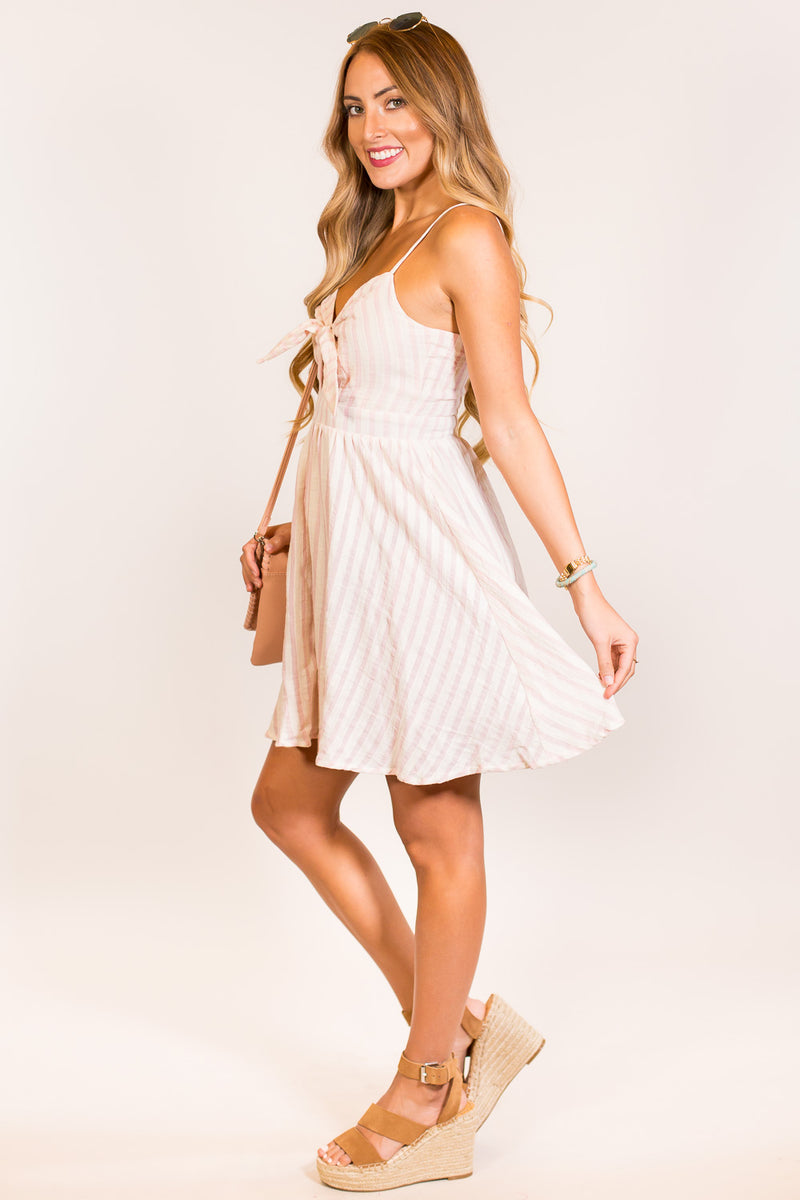 She's Dainty Dress-Light Pink