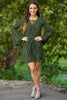 SALE-Let Me See You Dress-Olive