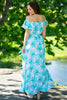 Buddy Love-Hot Toddy Palms Dress-Mint