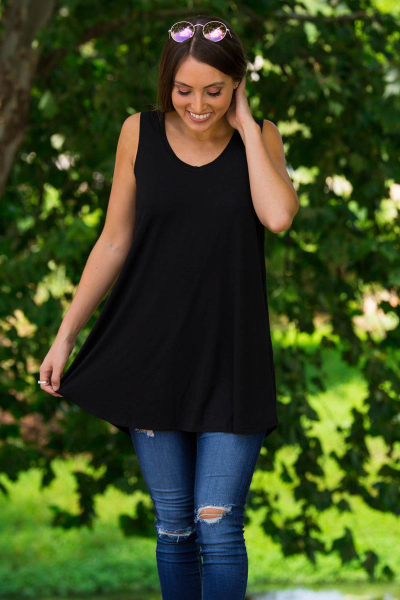 The Perfect Piko Swing Tank-Black
