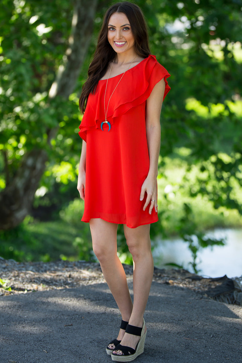 SALE-A Promise To You Dress-Poppy