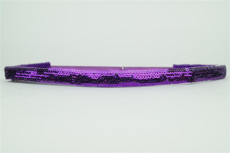 SALE-Pink Pewter Jill Stretchband-Purple